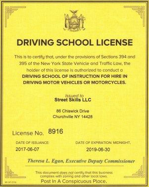 Driving – Street Skills LLC